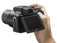 Sony Cyber-shot H50 Mega-Zoom Display